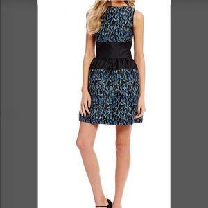 Belle by Badgley Mischka Brocade Vivian Dress. New